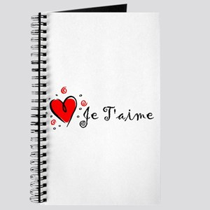 """I Love You"" [French] Journal"